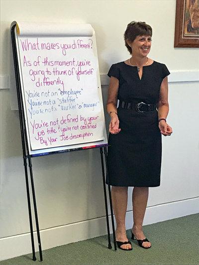 Integrity Integrated Who Is Ginny Wilson Peters Davenport Cedar Rapids